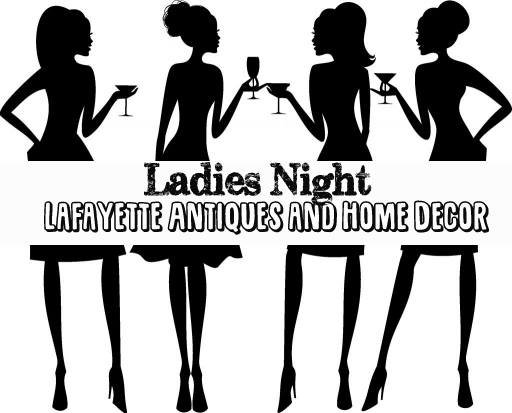 ladies night out lafayette antiques home decor